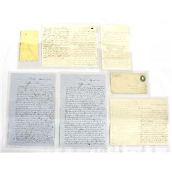 Antique 1800's Personal Oliver Family Letters