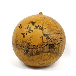 Gourd Art by June