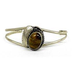 Vintage Native American Navajo Sterling Bracelet