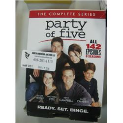 PARTY OF FIVE 142 EPISODES