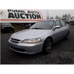 A3 -- 1998 Honda Accord, Grey, 340598 Km's