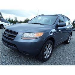 F1 --  2007 Hyundai Santa Fe , Blue , 249676  KM's
