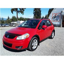 D3 --  2008 SUZUKI SX4 , Red , 122799  KM's