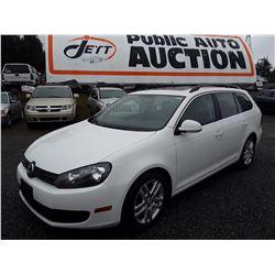 D5 --  2011  VW JETTA TDI  , White , 95493  KM's 10YR OR 193,000 KMS WARRANTY
