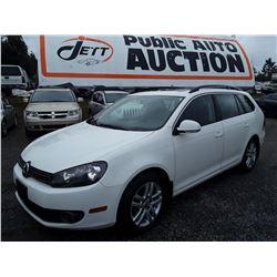 C5 --  2011 VW GOLF TDI , White , 109615  KM's 10YR OR 193,000 WARRANTY