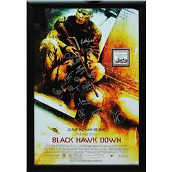 Black Hawk Down Signed Movie Poster