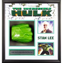 Incredible Hulk- Signed hand collage