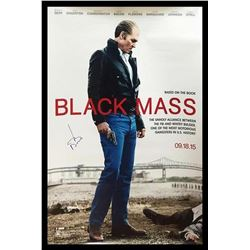 Black Mass - Signed Movie Poster