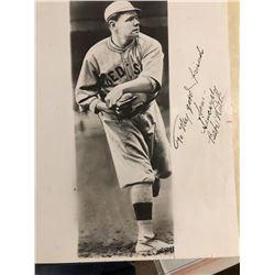 Babe Ruth Signed Photo