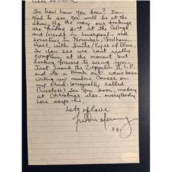 Freddie Mercury Signed & Handwritten Letter