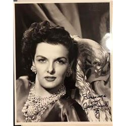 Jane Russell Signed Photo