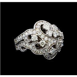 2.77 ctw Diamond Ring - 14KT White Gold