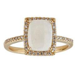 2.03 ctw Aquamarine and Diamond Ring - 14KT White Gold