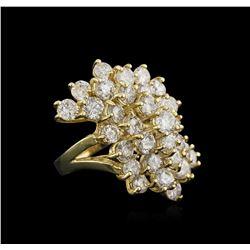 14KT Yellow Gold 8.32 ctw Diamond Ring