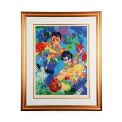 Ali vs. Foreman Zaire '74   by LeRoy Neiman - Limited Edition Serigraph