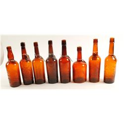 Western Whiskey Fifths / 8 Items    (61455)