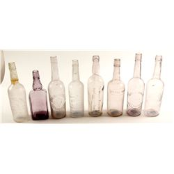 Western Whiskey Fifths / 8 Items.  (61457)
