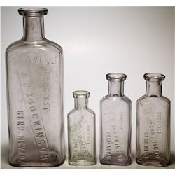 Hodgkinson Drug Bottles  (57724)