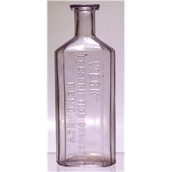 Large Rare Weck Medicine Bottle  (57932)