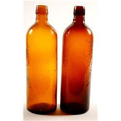 The Duffy Malt Whiskey Bottles / 2 Items.  (78850)