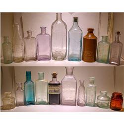 Box of Bottles, Grab Bag. ( 22 items ).   (78839)