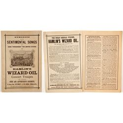 Hamlin's Wizard Oil Humorous and Sentimental Songs Booklet  (88331)
