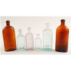Medicine Bottles /   6 Pieces  (78821)