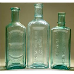 Medicine Bottles / 3 Items  (78827)