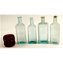 Sarsaparilla Bottles / 4 Pieces  (78813)