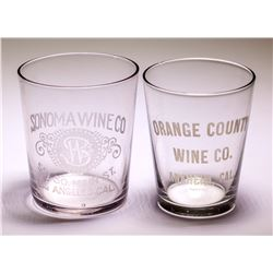 Wine Shot Glasses (2 count)  (51041)