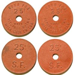 Milk Case Tokens  (78003)