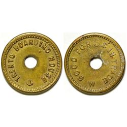 Trento Boarding House, Silverton, CO Token  (87124)