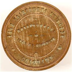 Corporate Seal / Brass  (61465)
