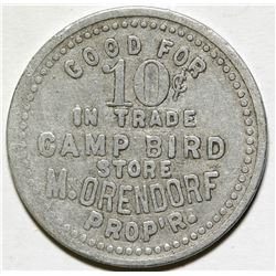 Camp Bird Store Token  (87136)