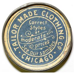 Tailor Made Clothing Co. Advertising Mirror  (78068)