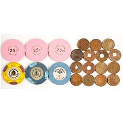 Eastern Nevada Token and Chip Collection  (87312)