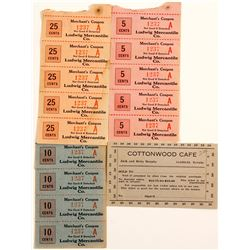 Ludwig Mercantile Merchants Coupons & Cottonwood Cafe Coupon  (61354)