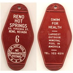 Reno Hot Springs Key Fob  (51434)