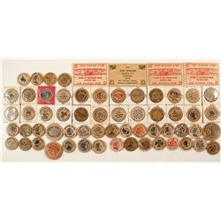 Wooden Nickles And Wooden Dimes   (61467)
