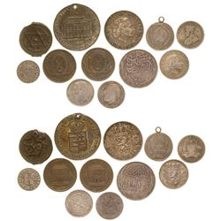 Foreign coins  (61059)