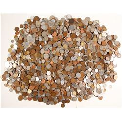 Foreign Coins. (About 21 lbs.)   (74002)