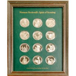 Norman Rockwell's Spirit of Scouting - The Franklin Mint  (79564)