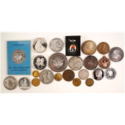 Silver Medallion and Token Collection  (88274)