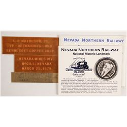Northern Nevada Railway Commemorative Silver Coin  (87305)
