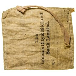 BANK BAG for the London City & Midland Bank  (28542)