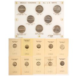Silver Medals Honoring All U.S. Mints  (88270)