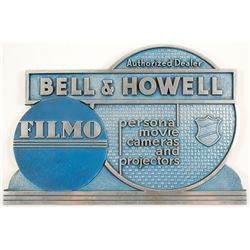 Bell & Howell Advertising Plaque   (88321)