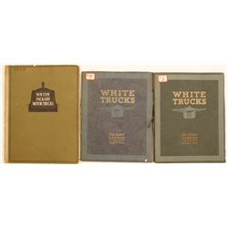 White and Packard Truck Catalogs (3)  (87417)