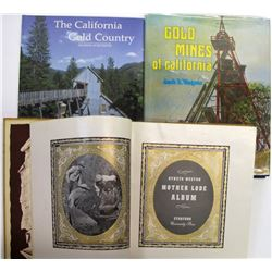 California Mother Lode Books (3 count)  (63333)