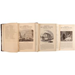 Harper's Magazine - Three Volumes on California  (80264)